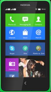The New Affordable Nokia X+ Dual SIM smartphone.