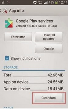 Error 941 Google play store