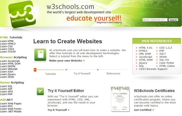 Free Download W3Schools Offline Installer Latest Version for PC, Mobile
