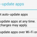 stop Auto update of apps in Android Phones