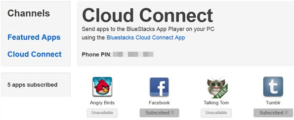 Steps to Sync your phone applications with the BlueStacks available on your PC