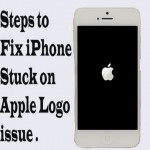 iPhone stuck at apple logo