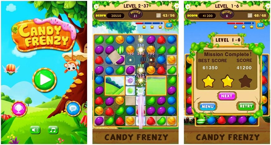 Download Candy Frenzy APK File In Your Android Mobile For Free_2